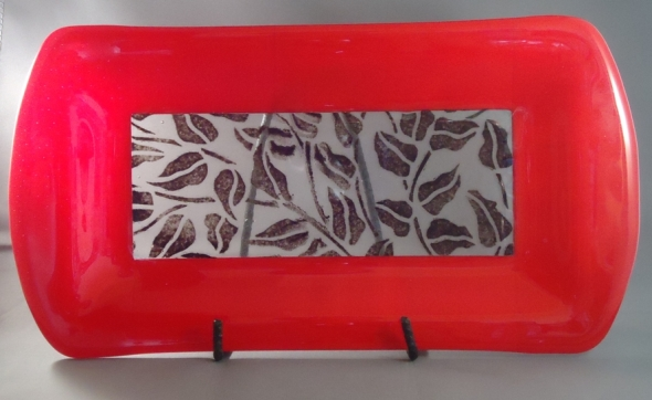 ps3 - red leaf platter